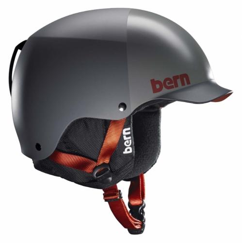 Pánská helma Bern Baker matte grey grey hatstyle  6c819ac58ba