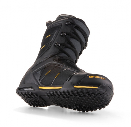 Snowboardové pánské boty GRAVITY Team black yellow - VÝPRODEJ ... 06f8421265