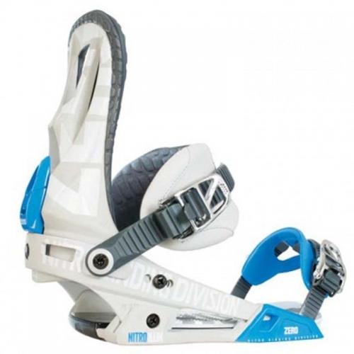 Snowboardové vázání Nitro Zero blue - VÝPRODEJ