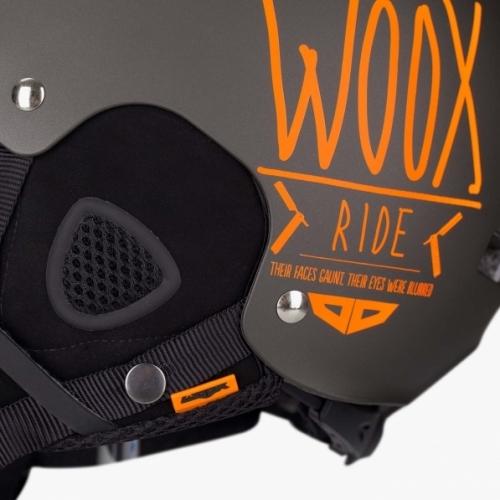 5a0c24974 Snowboardová helma WOOX Brainsaver Brown | SNOWBOARD-MB.cz e-shop