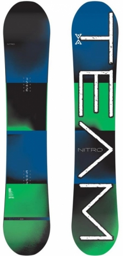 Snowboard Nitro Team, pánské snowboardy allmountain - AKCE