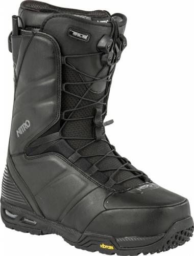 Boty na snowboard Nitro Team TLS black, pevné a kvalitní snb boty pro muže - VÝPRODEJ