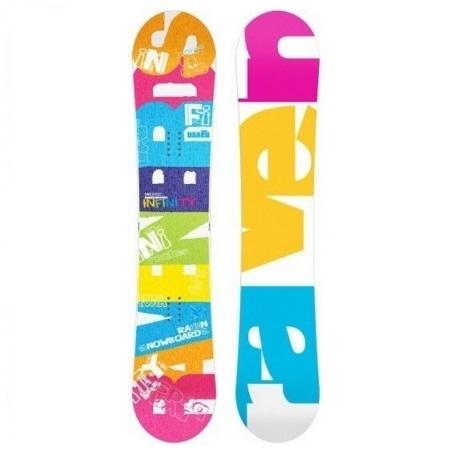 Dámský snowboard komplet Raven Infinity, snowboardové sety dámské - VÝPRODEJ