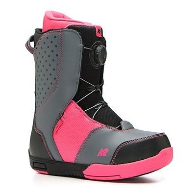 Dětské dívčí snowboardové boty K2 Kat BOA utahovací kolečko