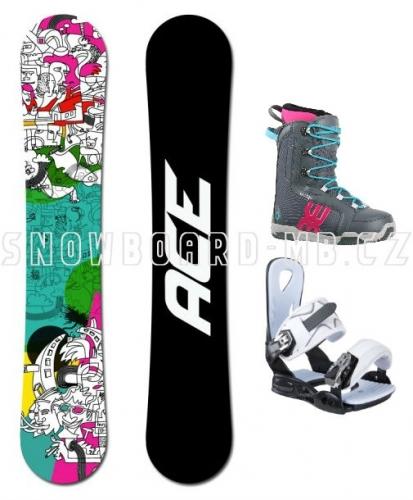 Dámský snowboard komplet Ace Mayday - VÝPRODEJ