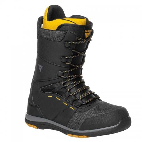 Pánské snowboardové boty Gravity Manual black/yellow - VÝPRODEJ