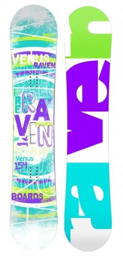 Dámský snowboard komplet Raven Venus, dámské snb sety s botami - VÝPRODEJ