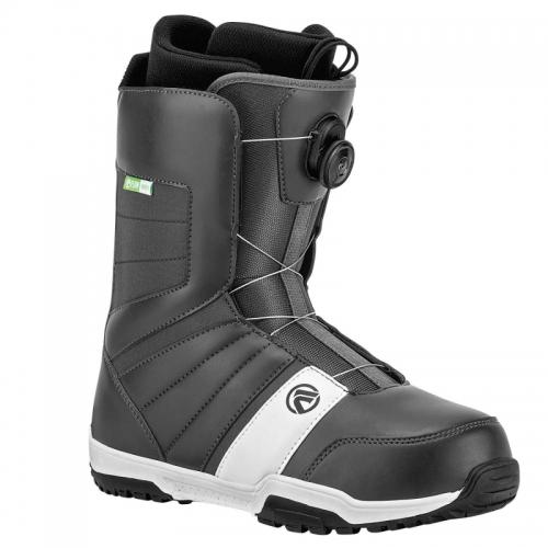 Snowboardové boty Flow Ranger Boa charcoal/white - VÝPRODEJ