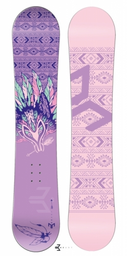 Dámský snowboard komplet Beany Spirit fialový - VÝPRODEJ