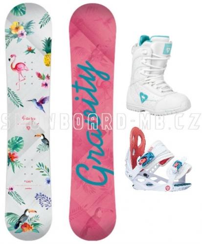 Dětský snowboard set Gravity Fairy 2018 - VÝPRODEJ