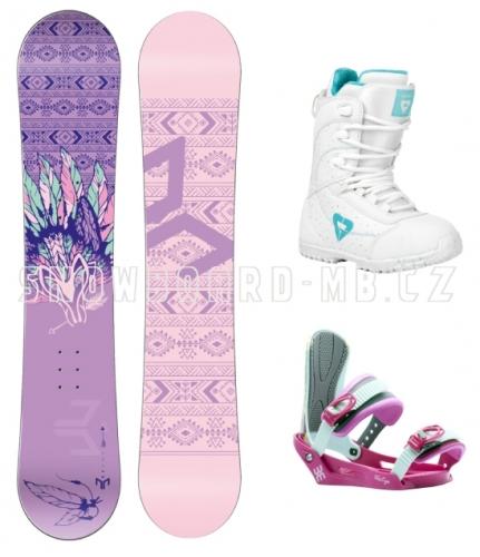 ef02c77a5 Dětský dívčí snowboard komplet Beany Spirit pro slečny a dívky ...
