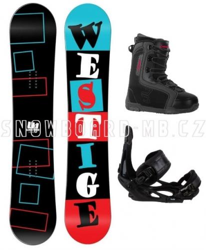 Snowboard komplet Westige Square  - AKCE