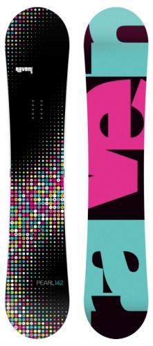 Dámský snowboardový set Raven Pearl (rychloutahovací boty) - VÝPRODEJ