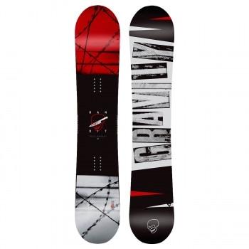 Snowboard komplet s rychlozapínacími botami Gravity Bandit 2019/2020 - AKCE