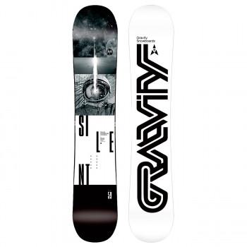 Snowboard komplet Gravity Silent 2019/20 - AKCE