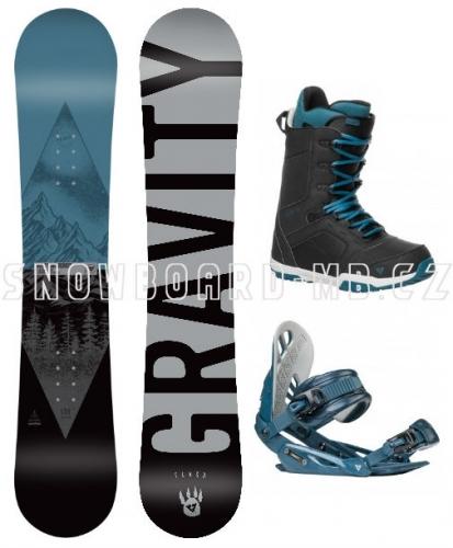 Snowboard komplet Gravity Adventure 2019/2020 - AKCE