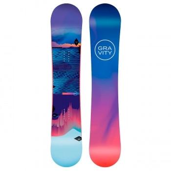Dámský snowboardový komplet Gravity Voayer s botami Bliss - AKCE