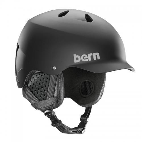 Lyžařská a snowboardová helma Bern Watts matte black 2019/2020
