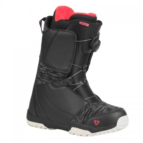 Dámský snowboardový komplet Gravity Electra s botami s utahováním kolečkem