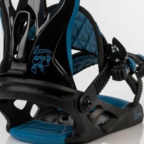 Dětské vázání Gravity G1 Jr black/blue 2020/2021