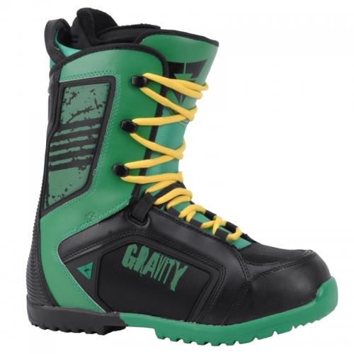 Pánské boty na snowboard Gravity Team black green černé zelené 11 12 -  VÝPRODEJ 5f9df049ff