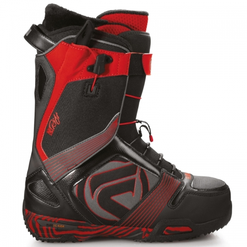 Boty Na Snowboard FLOW Rift Quick Fit Black/red