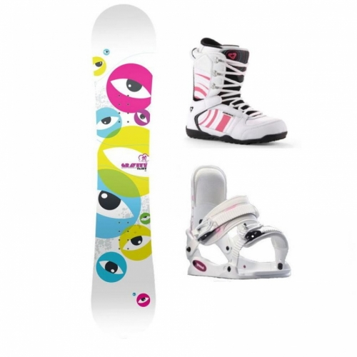 f89c4567a6 Dětský snowboard komplet pro dívky
