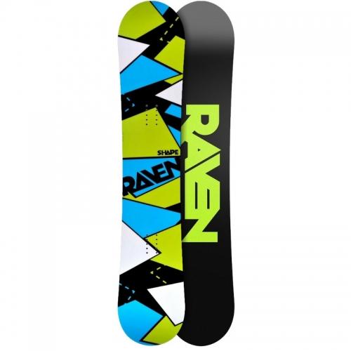 Snowboard Raven Shape black, allround/freestyle snowboardy - VÝPRODEJ