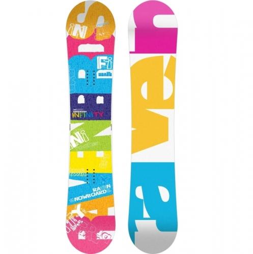 689e5f44b Dámský snowboard Raven Infinity, dámské snowboardy barevné ...