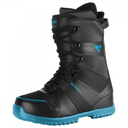 592c9eedc3c Pánské boty Gravity Manual black blue černé modré
