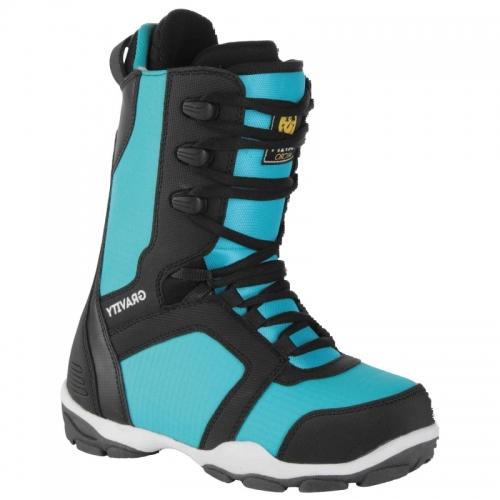 Dětské boty na snowboard Gravity Micro black blue - VÝPRODEJ ... 60b3421fde