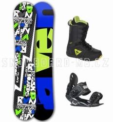 Snowboard komplet Raven RVN black