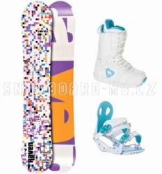 Dámský snowboardový komplet, snb komplety, snowboardy dámské