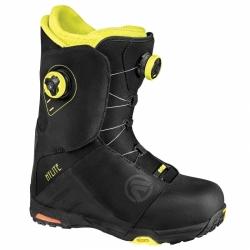 Pánské boty Flow Hylite Boa black/neon, kvalitní snb boty s 2 utahovacími kolečky