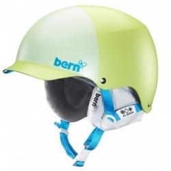 Dámská helma Bern Muse matte lime green hatstyle, snowboardová a lyžařská přilba
