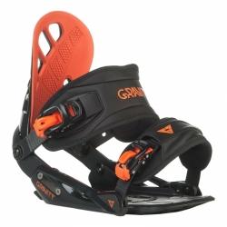 Vázání na snowboard Gravity G1 black/red černé/červené