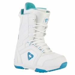 Dívčí boty na snowboard Gravity Aura white/blue bílé/modré