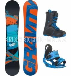Snowboard komplet Gravity Adventure blue
