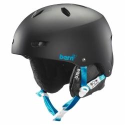 Dámská snowboardová helma Bern Brighton matte black/černá matná
