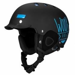 Snowboardová helma WOOX Brainsaver Black II.