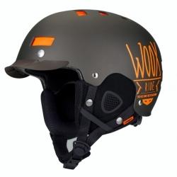 Snowboardová helma WOOX Brainsaver Brown