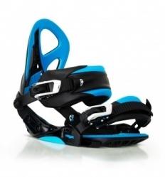 Snowboardové vázání Woox Constrictor black/blue