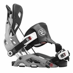Snowboardové vázání Flow Fuse Hybrid grey/šedé s fixací špičky