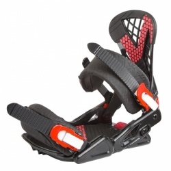 Vázání na snowboard Ace Predator black/red