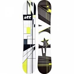 Snowboard Ace Oddity S1 bílý/černý, levné snowboardy