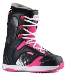 Dámské boty na snowboard Gang Passion, černé/bílé/růžové