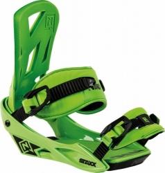 Snowboardové vázání Nitro Staxx green / zelené