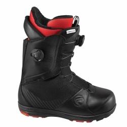 Kvalitní a pevné boty na snowboard Boty Flow Helios Focus 2 boa kolečka black/černé