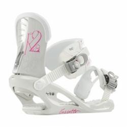 Dámské a dívčí snowboardové vázání K2 Cassette white