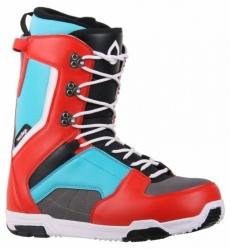 Junoorské snowboardové boty Westige Max Blue/Red modré/červené/černé
